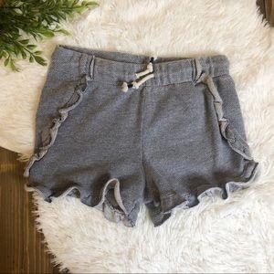 *3 FOR $15* Cat & Jack Ruffle Shorts Large 10/12